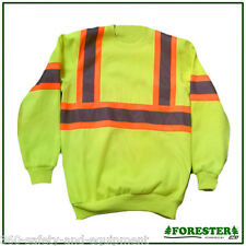 Safety Pullover Hi-Vis Class 3 Sweatshirt Meets ANSI/ISEA Sizes M To 3XL