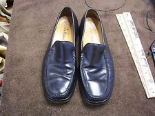 Cole Haan Nike Air Men's Black Leather Loafers Slip On Shoes Size 9 M