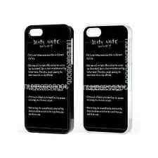 Death Note How To Use Anime Case For iPhone iPod Samsung GalaxySony Xperia Z3