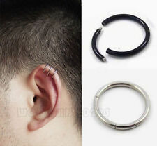 2pc Fashion Surgical Steel Ear/Nose/Eyebrow/Lip ring Earrings Cartilage  E034