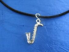 Saxophone Necklace OR Earrings - your choice of style