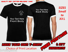 Design Your Own Personalised T-Shirt STAG, HEN or PARTY