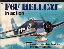 Squadron/Signal #36 ~ F6F Hellcat In Action ~ WWII fighter ~