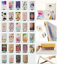 Fashion Vintage Cartoon Stand Case Cover For iPad 2/3/4/5/6 Air 1/2 Mini 1/2/3