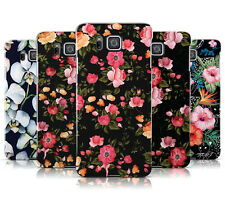FLORAL PATTERN COLLECTION HARD MOBILE PHONE CASE COVER FOR SAMSUNG GALAXY ALPHA