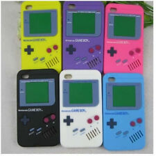 For Apple iPhone 4 4S Game Boy Style Soft Silicone Rubber Skin Cover Case