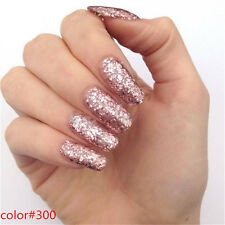 60 Glitter Colors Soak Off Gel Nail Polish Nail Art varnish Manicure Tips 8ml