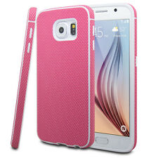 For Samsung GALAXY S6 Slim Hybrid ShockProof Rubber Hard Protective Case Cover
