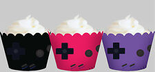 GAMEBOY Inspired Game Boy Games Party Wraps Cupcake Cases Cake Wrapper Cup Cake