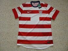 NWT Nike 2012/13 USA Authentic Player Issued Red White Waldo Jersey LARGE or XL