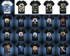 League of Legends! Game characters patterned cotton T-shirt boys and girls LOL