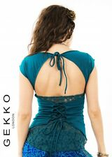 PIXIE TOP, FAIRY TOP, PIXIE VEST, GEKKO TOP, steampunk top, Psytrance top, elf