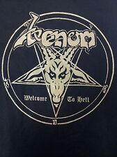 VENOM welcome short sleeve shirt Slayer Exodus Bathory Celtic Frost Nifelheim
