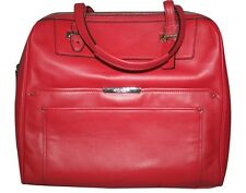 """Coach"" Taylor Bowler Satchel~Leather~Red Berry~NWT"