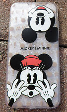 Disney Mickey and Minnie Mouse iPhone 6 Transparent Rubber Case Cover Protector