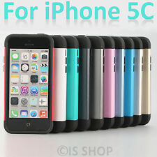 Slim Shock Proof Armor Tough Hard Case Cover Skin Guard Shield For iPhone 5C AU