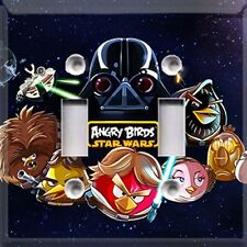 Angry Birds Star Wars~Light Switch Cover~Home Decor~Kids Room Decor~
