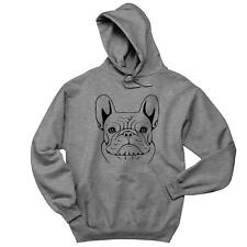 French Bulldog Sketch Mens Hoodie Frenchie Dogs Soft Comfy Top