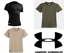 Under Armour Men's UA Tactical Heatgear Compression T Shirt BLACK 1216007 U PICK