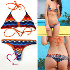 New Design Reversible Bikini 1 Set 4 Variations Triangle Style Sizes S, M, L