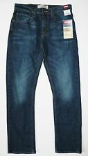 New Wrangler Premium Slim Straight Jeans Men's Sizes Dark Denim Color