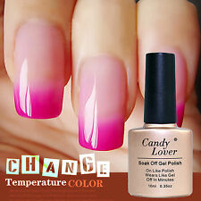 Candy Lover 10ML Pro Temperature Change Color UV GEL Polish Nail Art Brand New