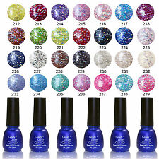 Candy Lover Nail Art 8ML UV Gel Polish Soak Off Glitter Color Lacquer 201-240