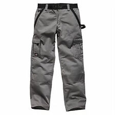 Dickies Industry 300 Two-Tone Work Trousers WD400C Grey/Black 34 T / 38 T (long)