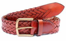 TOPS Tan Braided Leather Belt