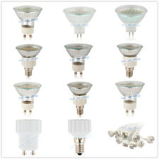 GU10/MR16/E14 30/48/60 SMD 2835 LED Light Bulbs lamps Spotlight with Glass Cover
