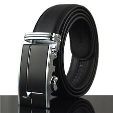 Luxury New Fashion Automatic Buckle Mens Waistband Real Genuine Leather Belts