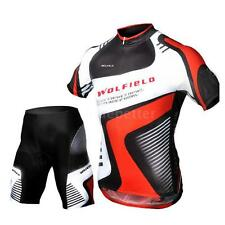 Cycling Bicycle Jersey + Shorts Short Sleeves Breathable Riding Clothes Pants