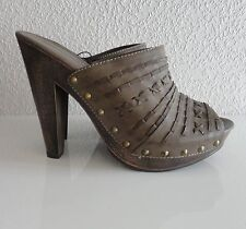 Primark Atmosphere High Heels Shoes Platform Court With Rivets Size. 7/40 New