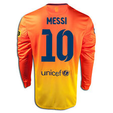 NIKE LIONEL MESSI FC BARCELONA LONG SLEEVE AWAY JERSEY 2012/13 LA LIGA
