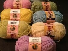 Lion Brand Yarn Baby Wool PICK YOUR COLOR        #B1