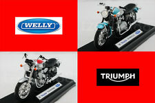 Welly 1:18 DIECAST Motocycle '02 TRIUMPH Thunderbird / Bonneville Model New Gift
