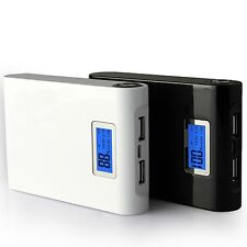 12000mAh LCD External Power Bank Backup Portable Battery Charger for iPhone HTC