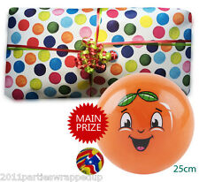 Bouncing Balls Unisex Pass the Parcel Party Game Ready Made (8 - 25 Layers)