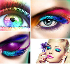 Bright NEON Eyeshadow Pigment Mica Cosmetic Mineral Makeup Limited Color 1oz &^