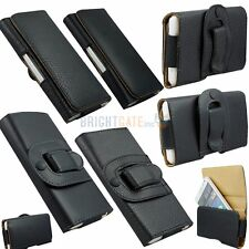 Holster Shield Strong Belt Clip Soft PU Leather Case for Samsung Galaxy S2 i9100