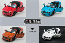 Kinsmart 1:38 DIECAST 2010 Bentley Continental Supersports Convertible 4 Color