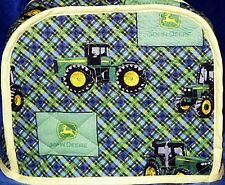 Quilted Toaster Cover John Deere Made to Order SEND YOUR MEASUREMENTS!!
