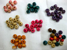 200 Wooden beads round 4mm in Various Colours,Colour choice, A56