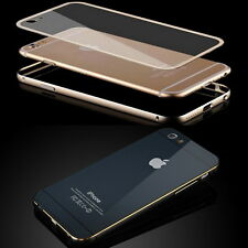 Hybrid Metal Bumper Hard Case Cover Housing Skin Protector fr iPhone 5 6 6S Plus