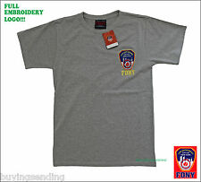 FULL EMBROIDERY FDNY NEW YORK CITY LICENSED T SHIRT FIRE CAP DEPARTMENT FIREMAN
