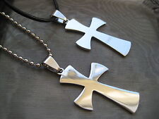 PICK YOUR CROSS and NECKLACE Stainless Steel Cross Pendant with Necklace