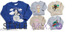 Boys Girls Baby Infant Toddler Nursery Rhymes Sweatshirt Jumper Top XMAS GIFT