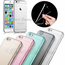 Ultra Slim Thin Soft TPU Gel Silicone Clear Back Case Cover for iPhone 6 4.7""