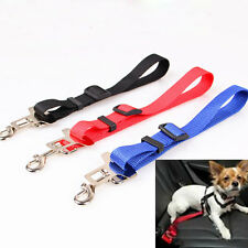 Pet Dog Cat Car Vehicle Seat Safety Safe Belt Harness Nylon Restraint Lead
