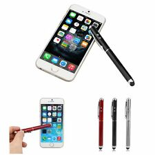 New 3 in 1 Stylus Pen with Touchscreen Stylus, Red Laser Pointer, LED Flashlight